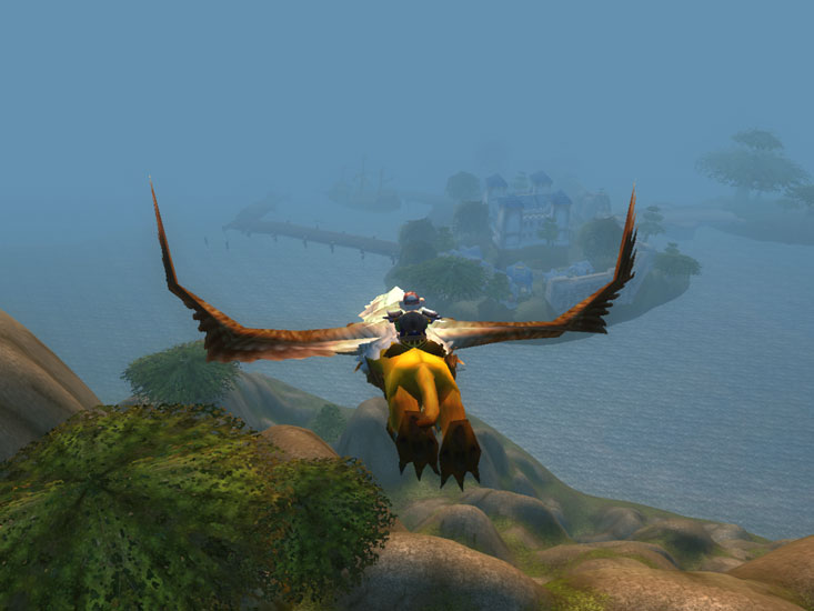 Flight to Menethil