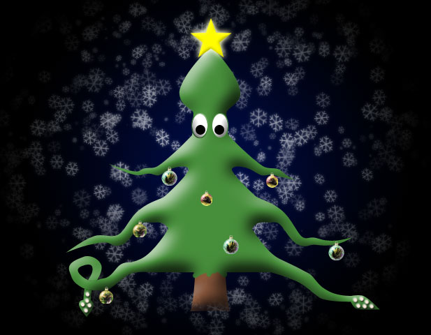 Squidsmas Tree